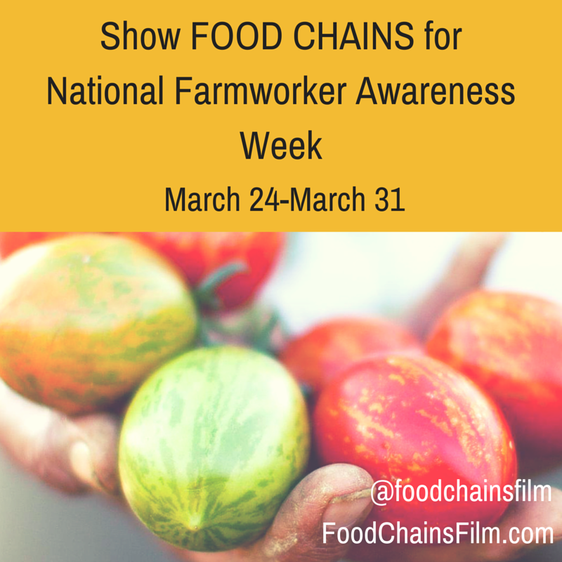 NATIONAL FARMWORKER AWARENESS WEEK